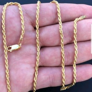 Men's or women's rope chain